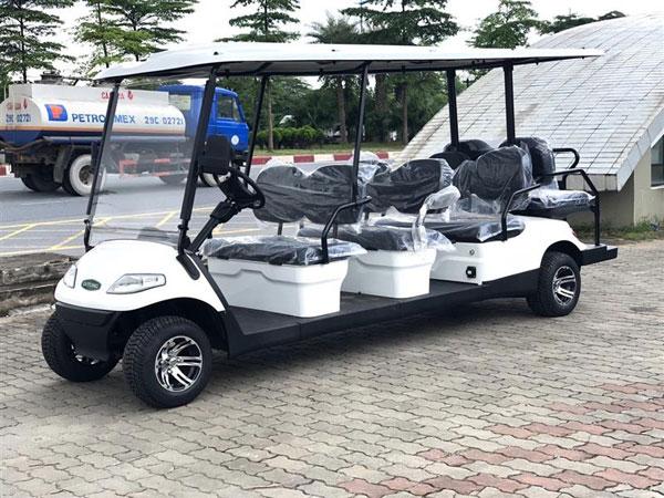 thiết kế của xe ô tô điện du lịch 8 chỗ LT-A627.6+2