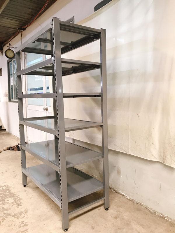 Kệ sắt chứa hàng nhà kho nhiều tầng tại Đà Nẵng