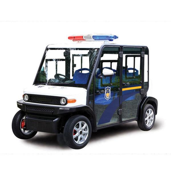 Xe cảnh sát nhỏ gọn