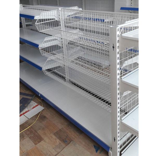 Mẫu kệ siêu thị kết hợp cả 2 dạng được bán tại HCM