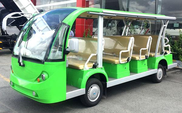 Mẫu xe điện hiện đại chở khách du lịch kiểu mới