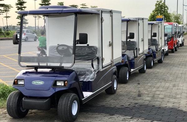 Các loại xe điện chở hàng giá rẻ