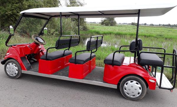 Mẫu xe điện sân golf cũ đẹp