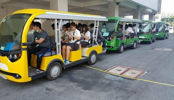 Nên mua xe điện chở khách ở đâu tại HCM chất lượng giá rẻ
