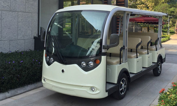 Xe bus điện du lịch 4 bánh LVTONG S11