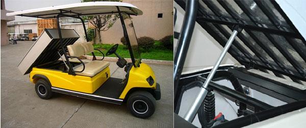 Xe điện chở gạch 2 chỗ LT-A2.H2 kiểu hiện đại