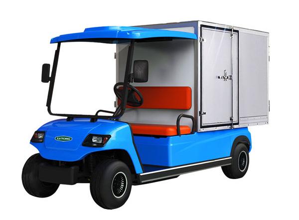 Xe điện chở hàng khu công nghiệp thùng kín LT-A2.GC