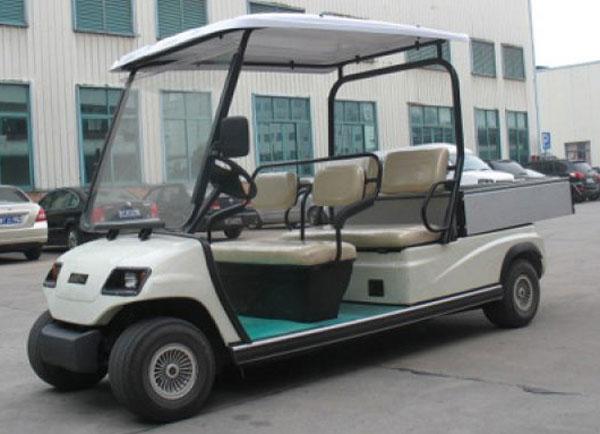 Xe điện chở hàng sân golf 4 bánh