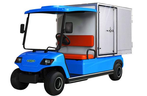 Xe điện chở hàng sân golf giá rẻ