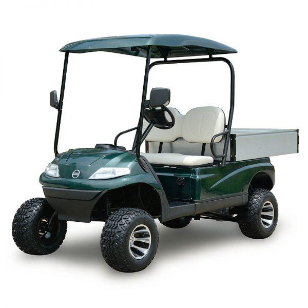 Xe điện chở hàng sân golf kiểu dáng cao 2 chỗ