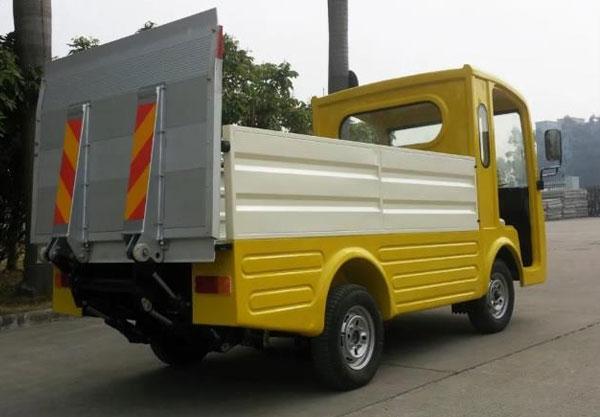Xe tải điện chở gạch sàn nâng 2 chỗ LT-S2.A.HY