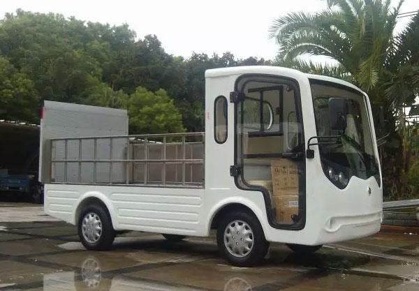 Xe tải điện chở gạch thùng hở 2 chỗ LT-S2.B.HY6
