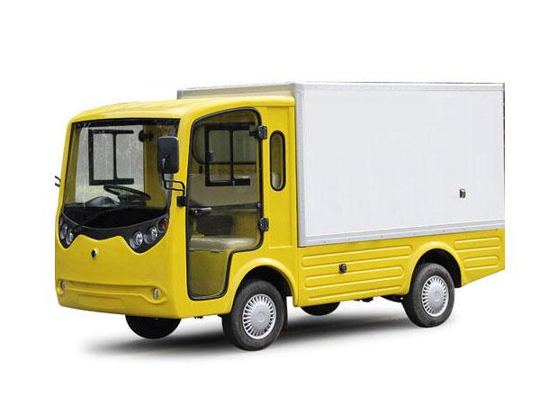 Xe tải điện chở hàng khu công nghiệp thùng kín LT-S2.B.HX