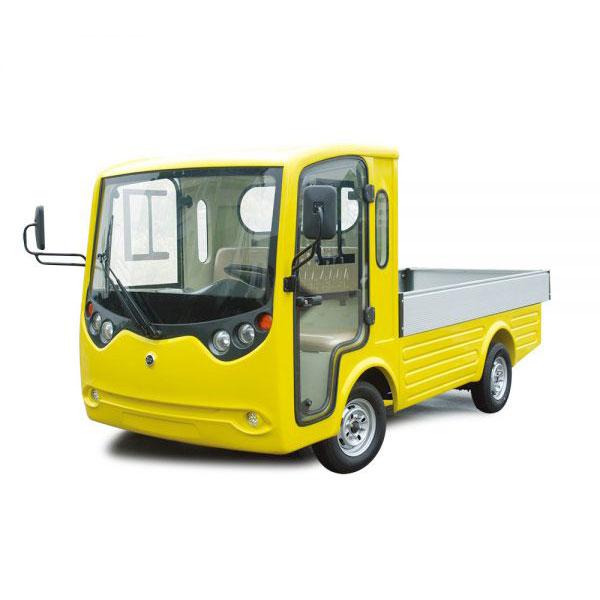 Xe tải điện chở hàng trong nhà máy
