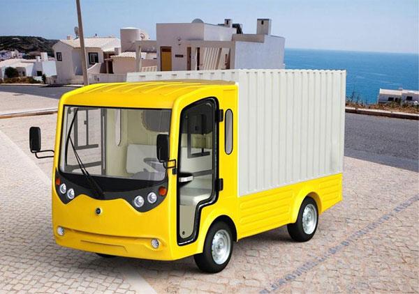 Xe tải điện chở hàng