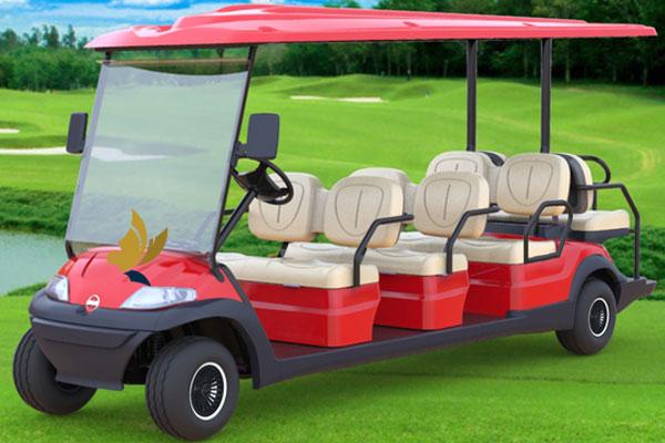 Kiểu xe điện chở khách trên sân golf