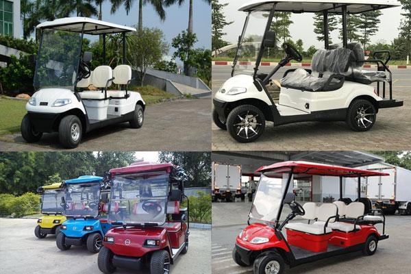 4 loại xe điện 4 bánh sân golf tốt nhất hiện nay