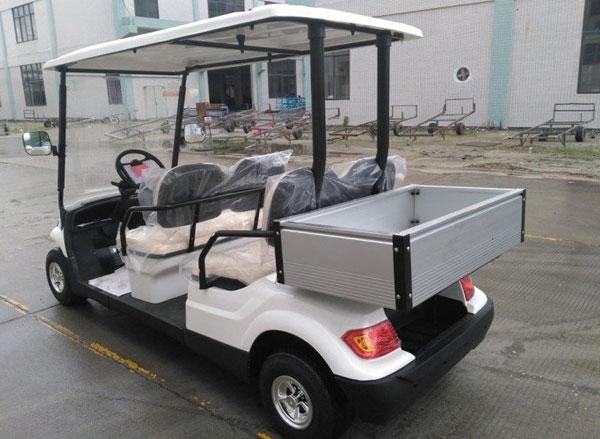 Xe điện chở hành lý sân golf thùng lửng 4 chỗ