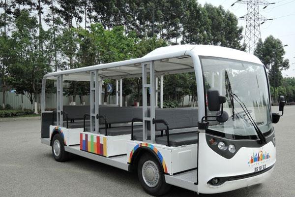 Xe ô tô điện chở khách 23 chỗ - Màu trắng
