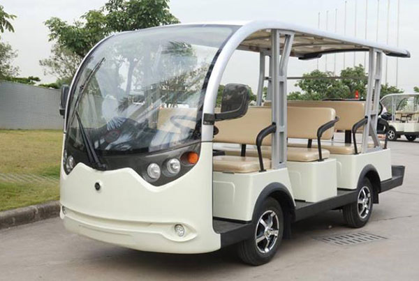Xe điện 8 chỗ chở khách du lịch với công nghệ hiện đại