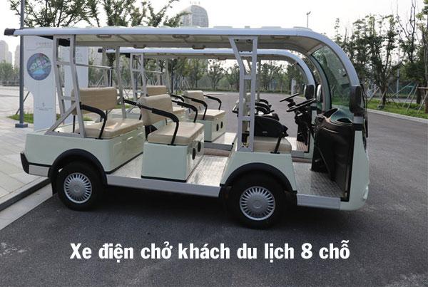 Xe điện chở khách du lịch 8 chỗ