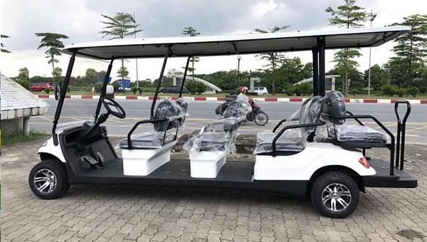 Xe điện du lịch kiểu danh cho sân golf A627