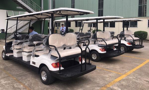 Xe điện sân golf cũ chất lượng tốt