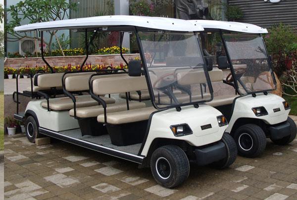 Xe ô tô điện chở khách tham quan 8 chỗ LT-A8