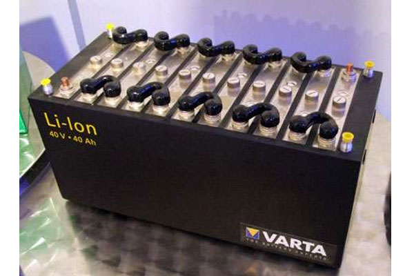 Mẫu pin ắc quy Lithium