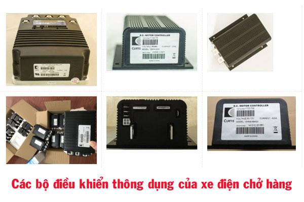 Các bộ điều khiển thông dụng của xe điện chở hàng