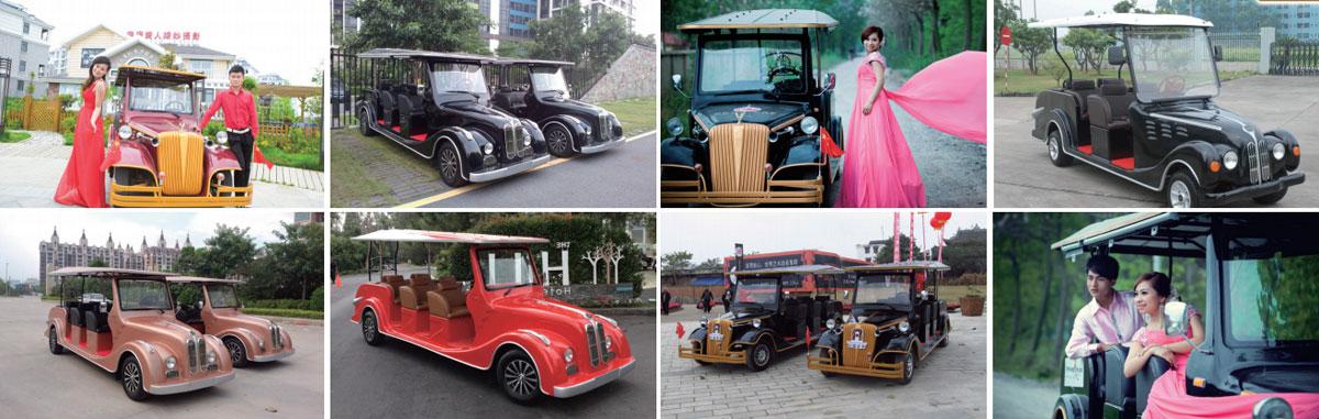 Các loại hình sử dụng xe ô tô điện cổ điển Lvtong