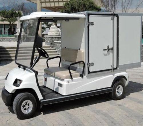 Xe điện chở hàng 4 bánh thùng kín