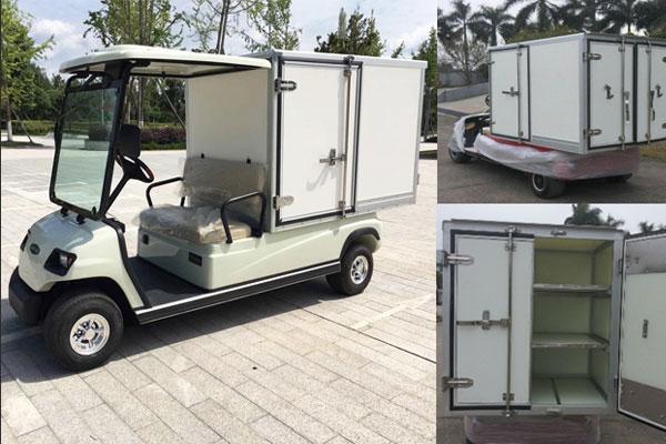 Xe điện chở hàng thùng kín có mái che LT-A2.GC