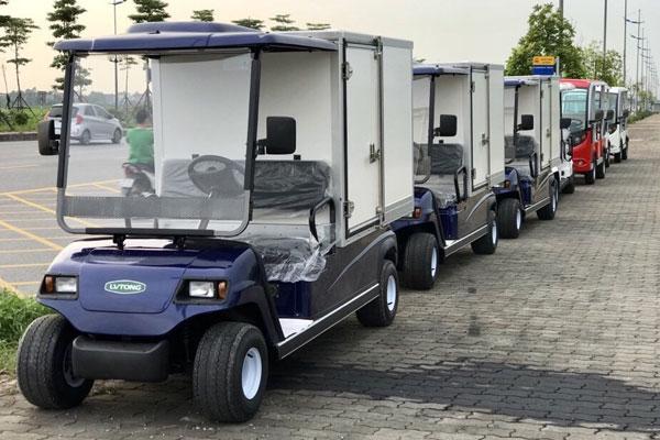 Mẫu xe điện chở hàng của LVTONG