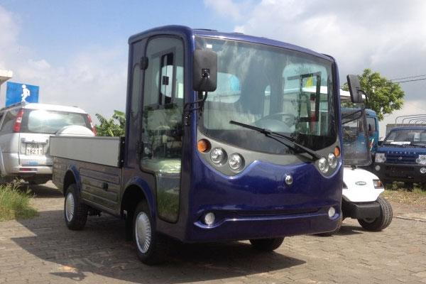 Xe ô tô điện chở vật liệu dạng xe tải/bán tải