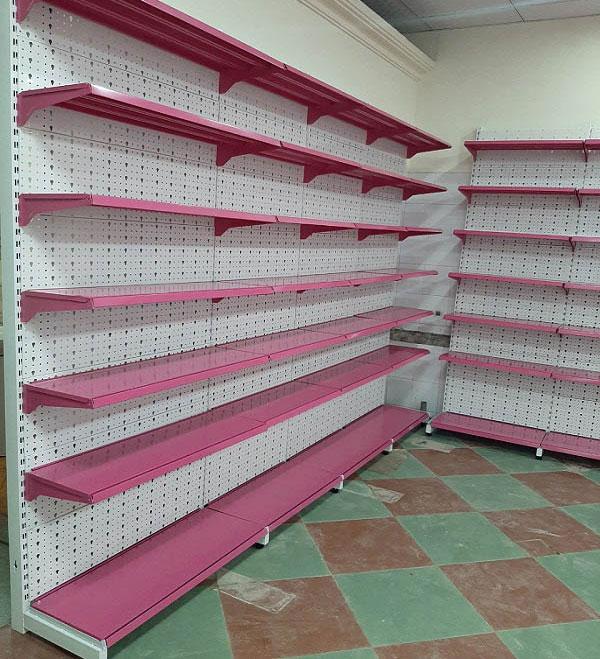 Kệ siêu thị áp tường